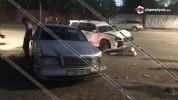 Խոշոր ավտովթար Երևանում. բախվել են Merecdes-ը, Subaru-ն և Opel-ը