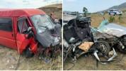 Խոշոր ավտովթար Ստեփանակերտ-Ասկերան ճանապարհին․ 5 անձ վնասվածքներով հոսպիտալացվել են