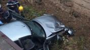 Ավտովթար Եղեգնաձոր քաղաքում․ «Lada» մակնիշի ավտոմեքենան դուրս է եկել ճանապարհի երթևեկելի հ...