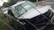 Տավուշի մարզում 28-ամյա վարորդը Nissan Tiida-ով կողաշրջվել է. կա վիրավոր