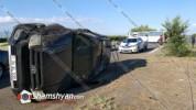 Խոշոր ավտովթար Արմավիրի մարզում. բախվել են 40 ուղևոր տեղափոխող ատոմակայանին պատկանող ավտոբ...
