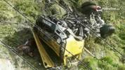 Սյունիքի մարզում КамАЗ-ը 150 մետր գլորվելով՝ հայտնվել է ձորում. կա 1 զոհ, 3 վիրավոր