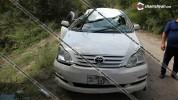 Լոռու մարզում 50–ամյա վարորդի կողմից Toyota Ipsum-ի հրման ժամանակ այն 5 մետր բարձրությունի...
