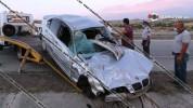 Խոշոր ավտովթար Արագածոտնի մարզում. վարորդը հոսպիտալացվել է
