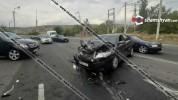 Խոշոր ավտովթար Երևանում. բախվել են Mercedes ML 350-ն ու Toyota Camry-ն. կան վիրավորներ