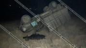 Խոշոր ավտովթար Վայոց Ձորի մարզում. 35-ամյա վարորդը ЗИЛ 130-ով կողաշրջվել է
