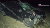 Խոշոր ավտովթար Գեղարքունիքի մարզում. բախվել են Opel եւ ВАЗ 21150 ավտոմեքենաները. կա 5 վիրա...