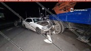 Խոշոր ավտովթար Արմավիրի մարզում. Mercedes-ը բախվել է ГАЗ 5312 մակնիշի ավտոաշտարակին. կան վ...