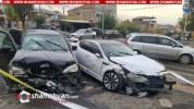 Խոշոր ավտովթար Երևանում. ճակատ-ճակատի բախվել են Mercedes ML 320-ն ու Kia-ն. կան վիրավորներ...