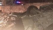 Մեքենան բախվել է Զորակոչային ծառայության շենքի ճաղավանդակին․ կա երկու զոհ
