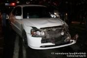 Մոսկովյան և Աբովյան փողոցների խաչմերուկի մոտակայքում բախվել է երեք ավտոմեքենա