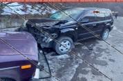 Կապան քաղաքում բախվել են 38-ամյա վարորդի 06-ն ու 15-ամյա դպրոցականի վարած Nissan-ը