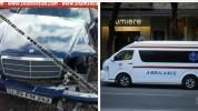 Դիլիջան քաղաքի Թբիլիսյան խճուղում իրար են բախվել են Mercedes և Nissan մակնիշի ավտոմեքենանե...