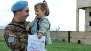 Լիբանանում խաղաղարար առաքելություն իրականացրած հայ զինծառայողները վերադարձել են Հայաստան (...