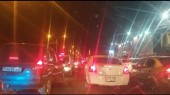 Ոստիկանները ստուգում են Երևան մտնող մեքենաները. Ջրվեժում խցանում է. (տ...