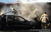 «Volkswagen Vento» մակնիշի ավտոմեքենա է այրվել՝ Ստեփանավան-Բերդ ավտոճանապարհին