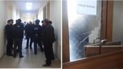 Շիրակի մարզպետարանում իրավիճակը լարված է. գերիների ծնողների և ոստիկանների միջև ընդհարում է...