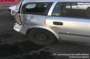 Սարալանջի փողոցից Վերին Անտառային փողոց տանող հատվածում բախվել են Mercedes-ն ու Opel-ը. կա...