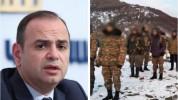Ադրբեջանի ձեռքում է Հայաստանի հարյուրից ավելի քաղաքացի․ Զարեհ Սինանյան