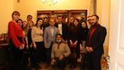 Զարեհ Սինանյանը Մոսկվայում հանդիպել է Հայ իրավաբանների ասոցիացիայի անդամների հետ