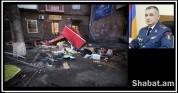 Մեքենայի հարվածից սննդի կետը ամբողջությամբ փլուզվել է  (տեսանյութ, լուսանկարներ)