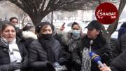 100 օր ա երեխուցս լուր չունեմ զինծառայողների հարազատները կրկին կառավարության դիմաց էին (տեսանյութ)