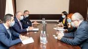 ՀՀ զինդատախազը «Human Rights Watch» կազմակերպության ներկայացուցչի հետ քննարկել է հայ ռազմա...