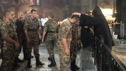Առաջին զորամիավորման զորամասերից մեկի զինծառայողները ուխտագնացություն են կատարել Տաթևի վան...