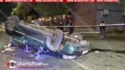 Խոշոր ավտովթար Երևանում. մեքենաներից մեկի վարորդը զրկվել է վարորդական իրավունքից