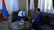 Փոխվարչապետ Մհեր Գրիգորյանն աշխատանքային հանդիպում է ունեցել Արցախի պետնախարարի հետ
