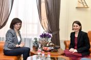 Աննա Հակոբյանը Գլեդիս Բերեջիկլյանի հետ քննարկել է համագործակցության ուղիները